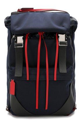 Мужской текстильный рюкзак  valentino garavani vltn city VALENTINO темно-синего цвета, арт. SY2B0821/QSF | Фото 1