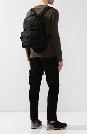 Мужской текстильный рюкзак valentino garavani camouflage VALENTINO черного цвета, арт. SY2B0340/NAI | Фото 2