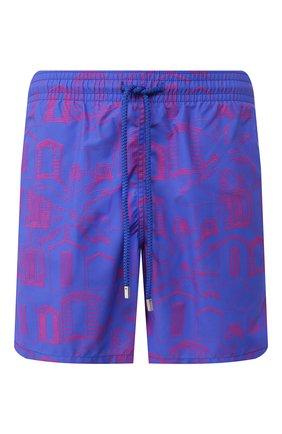 Детского плавки-шорты VILEBREQUIN синего цвета, арт. MOOC0B07 | Фото 1