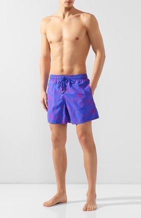 Мужские плавки-шорты VILEBREQUIN синего цвета, арт. MOOC0B07 | Фото 2