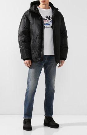 Мужские кожаные ботинки neumel zip UGG черного цвета, арт. 1103883_BTNL | Фото 2