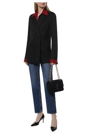 Женская кожаные туфли gianvito 70 GIANVITO ROSSI черного цвета, арт. G26770.70RIC.VERNER0 | Фото 2
