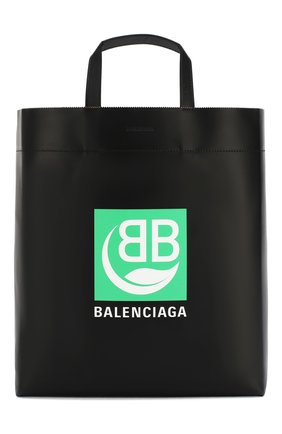 Мужская сумка-тоут market m BALENCIAGA черного цвета, арт. 592976/1NI23 | Фото 1