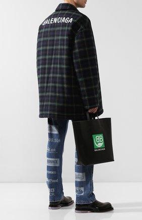 Мужская сумка-тоут market m BALENCIAGA черного цвета, арт. 592976/1NI23 | Фото 2