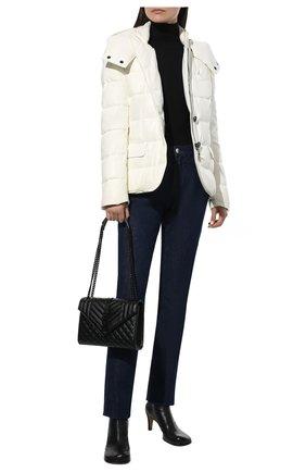 Женский кожаная куртка TOM FORD белого цвета, арт. GIL418-LEX217 | Фото 2