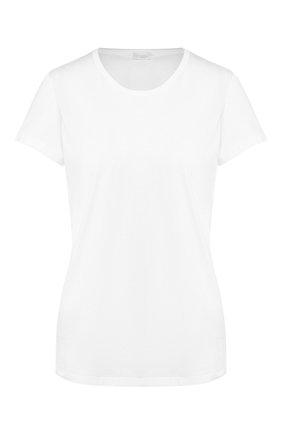 Женская хлопковая футболка ZIMMERLI белого цвета, арт. 286-2761 | Фото 1