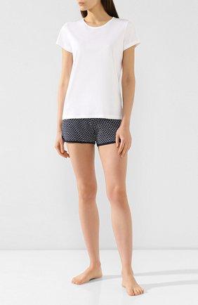 Женская хлопковая футболка ZIMMERLI белого цвета, арт. 286-2761 | Фото 2