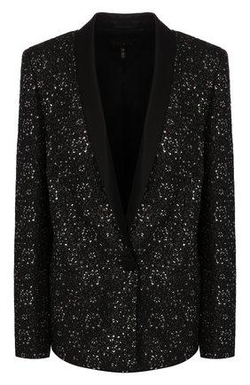 Женский жакет ESCADA черного цвета, арт. 5031914 | Фото 1