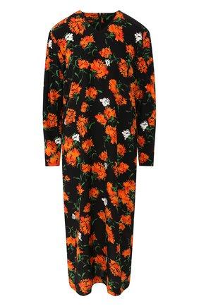 Женское шелковое платье ESCADA черного цвета, арт. 5032260 | Фото 1