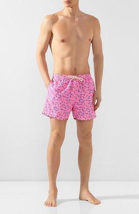 Детского плавки-шорты MC2 SAINT BARTH розового цвета, арт. STBM LIGHTING MIC/LIG0003 | Фото 2