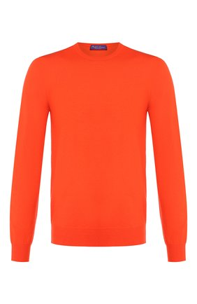 Мужской кашемировый джемпер RALPH LAUREN оранжевого цвета, арт. 790509395   Фото 1