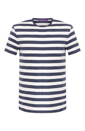 Мужская хлопковая футболка RALPH LAUREN разноцветного цвета, арт. 790775617 | Фото 1