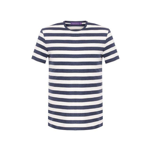Хлопковая футболка Ralph Lauren — Хлопковая футболка