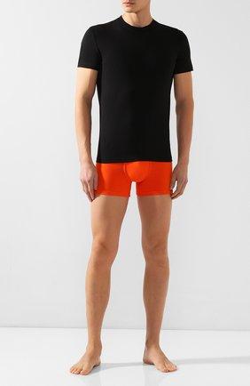 Мужские хлопковая футболка DSQUARED2 черного цвета, арт. D9M202450 | Фото 2
