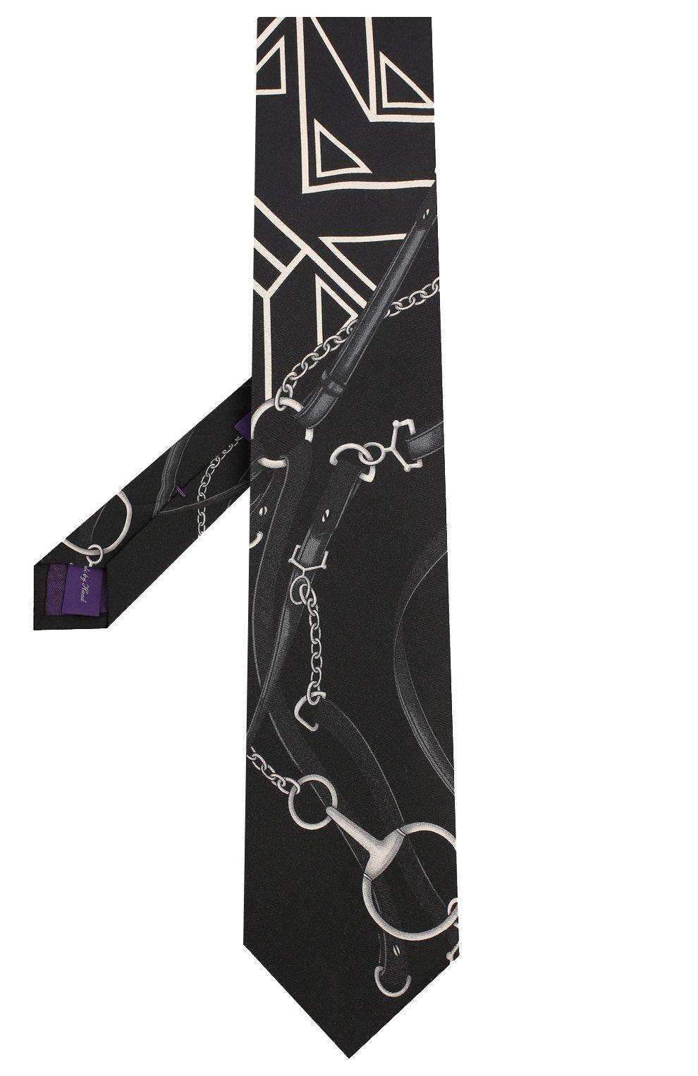 Мужской шелковый галстук RALPH LAUREN разноцветного цвета, арт. 791773335 | Фото 2