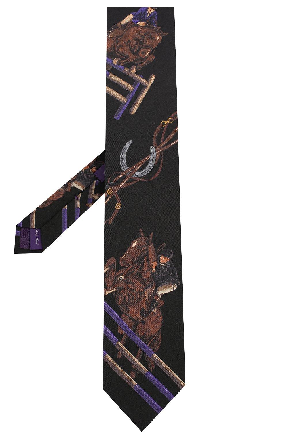 Мужской шелковый галстук RALPH LAUREN разноцветного цвета, арт. 791773338   Фото 2