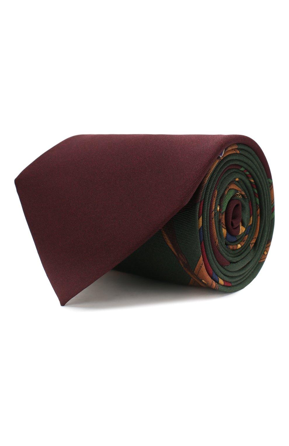 Мужской шелковый галстук RALPH LAUREN разноцветного цвета, арт. 791773397 | Фото 1