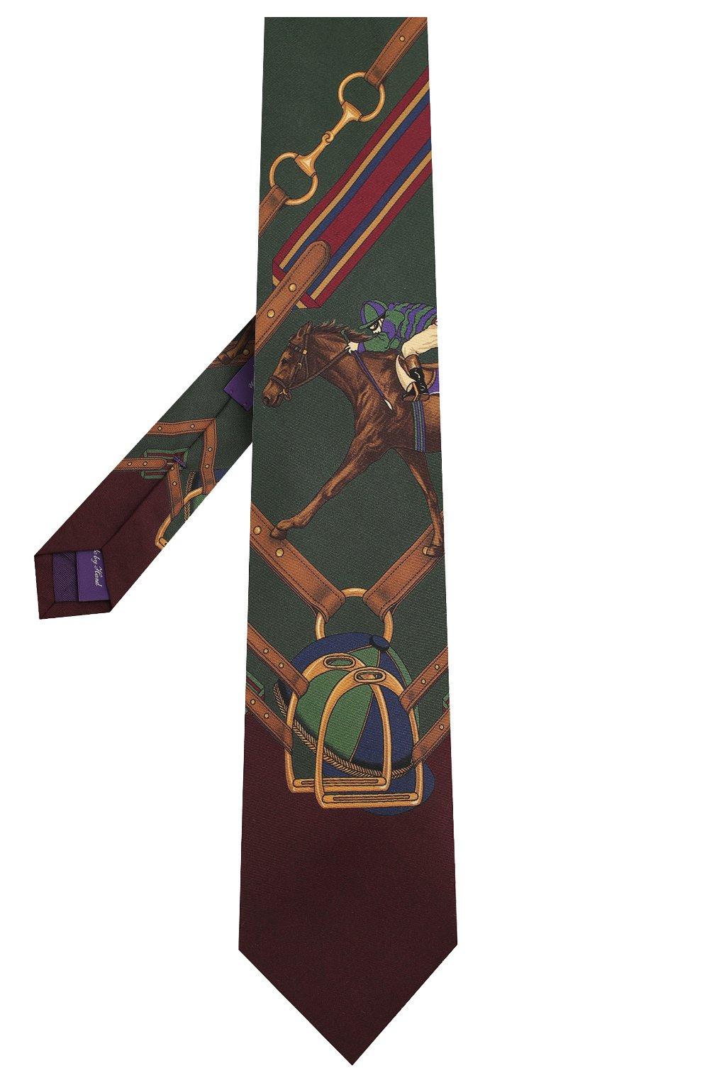 Мужской шелковый галстук RALPH LAUREN разноцветного цвета, арт. 791773397 | Фото 2