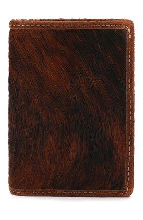 Мужской кожаное портмоне RRL коричневого цвета, арт. 417754810 | Фото 1