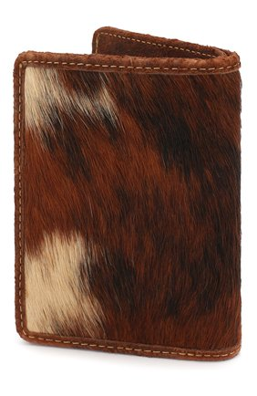 Мужской кожаное портмоне RRL коричневого цвета, арт. 417754810 | Фото 2