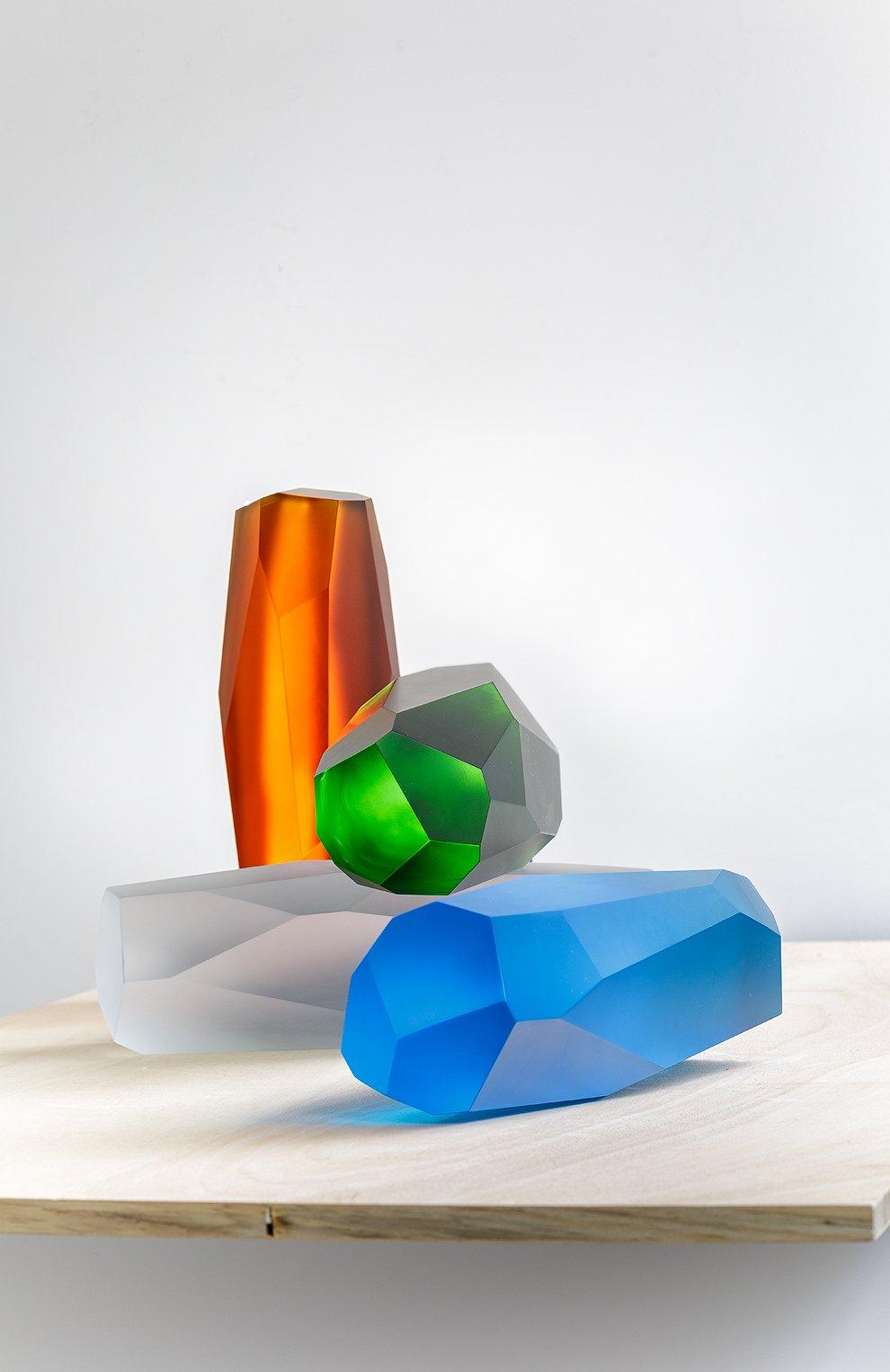 Мужского скульптура rockstone LALIQUE прозрачного цвета, арт. 89020101 | Фото 2