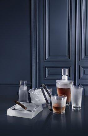 Мужского стакан для сока wingen LALIQUE прозрачного цвета, арт. 10687900 | Фото 2