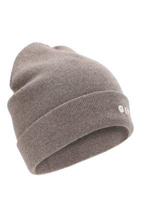 Женская шерстяная шапка GIVENCHY бежевого цвета, арт. GWCAPP/U1604   Фото 1