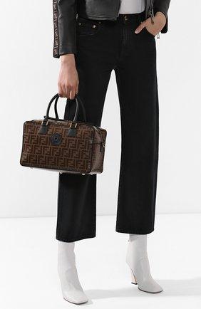 Женская сумка boston small FENDI черного цвета, арт. 8BL143 A5K4 | Фото 2