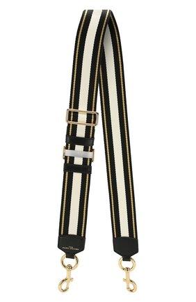 Женские ремень для сумки MARC JACOBS (THE) черного цвета, арт. M0015671 | Фото 1