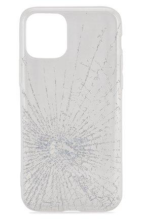 Мужской чехол для iphone 11 pro MISHRABOO прозрачного цвета, арт. Broken 11 Pro | Фото 1