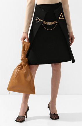 Женская сумка bv twist BOTTEGA VENETA светло-бежевого цвета, арт. 607964/VCP40 | Фото 2