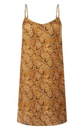 Женская шелковая сорочка EVA B.BITZER золотого цвета, арт. 29312978 | Фото 1
