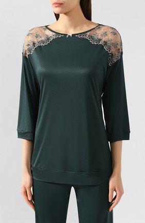 Женская пижама FREE VOOGUE зеленого цвета, арт. 29103 | Фото 2