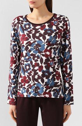 Женская хлопковая пижама MEY коричневого цвета, арт. 14_161_245 | Фото 2