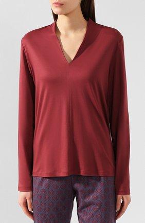 Женская хлопковая пижама MEY бордового цвета, арт. 14_165_284 | Фото 2