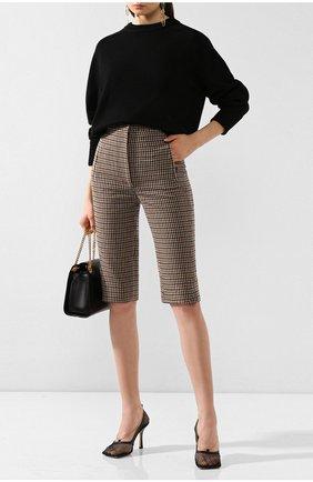 Женская кашемировый пуловер CHLOÉ черного цвета, арт. CHC19AMP35500 | Фото 2