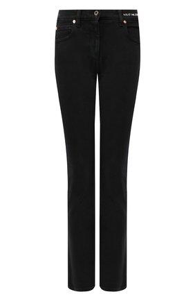 Женские джинсы VALENTINO черного цвета, арт. SB0DD09D4VW | Фото 1