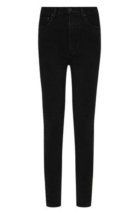 Женские джинсы MOUSSY черного цвета, арт. 025CAC12-2273 | Фото 1
