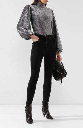 Женские джинсы MOUSSY черного цвета, арт. 025CAC12-2273 | Фото 2