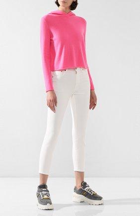 Женские джинсы MOUSSY белого цвета, арт. 025CAC12-1113 | Фото 2