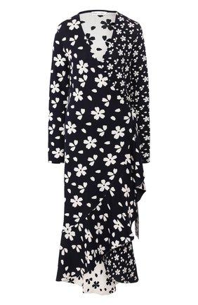 Платье из смеси шелка и хлопка   Фото №1