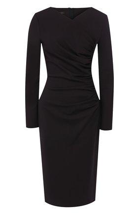 Женское платье ESCADA темно-синего цвета, арт. 5031940 | Фото 1