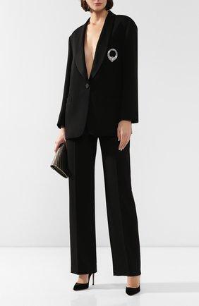 Женский шерстяной жакет ESCADA черного цвета, арт. 5032119 | Фото 2