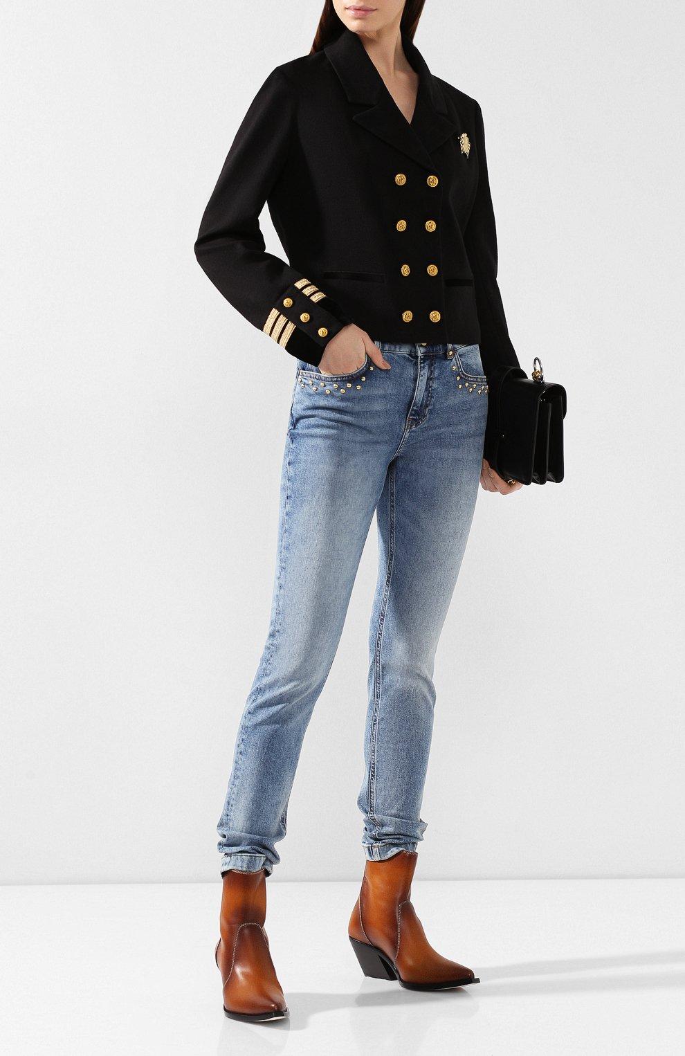 Женские джинсы ESCADA SPORT голубого цвета, арт. 5032487 | Фото 2