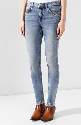 Женские джинсы ESCADA SPORT голубого цвета, арт. 5032487 | Фото 3