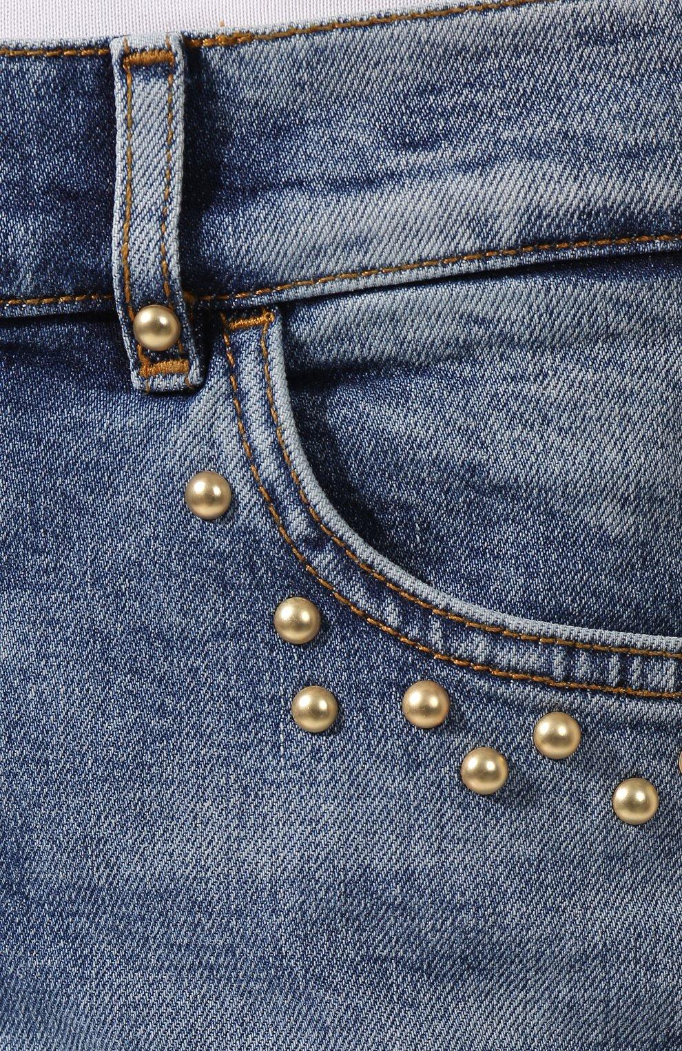 Женские джинсы ESCADA SPORT голубого цвета, арт. 5032487 | Фото 5