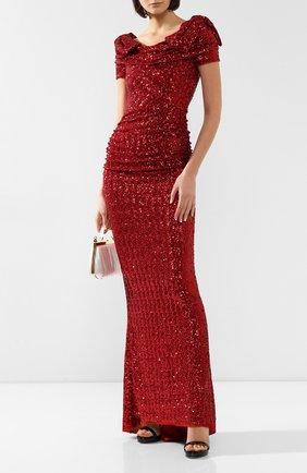 Платье-макси c пайетками | Фото №2