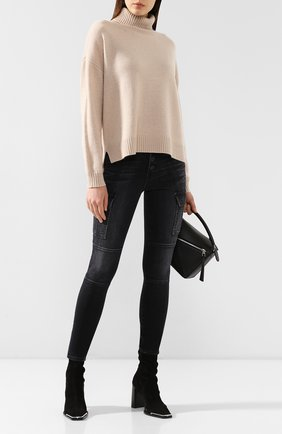Женские джинсы 3X1 серого цвета, арт. WP0080921/WEBER | Фото 2
