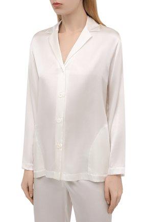 Женская шелковая пижама LA PERLA бежевого цвета, арт. 0020288 | Фото 2