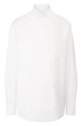 Женская хлопковая рубашка RALPH LAUREN белого цвета, арт. 290748324 | Фото 1